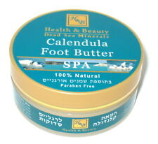 100 ml 3.4 Oz H&B Calendula Foot Butter For Cracked Feet Dead Sea Minerals