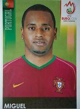 Panini 109 Miguel Portugal UEFA Euro 2008 Austria - Switzerland