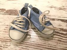 Babyschuhe Erstlingsschuhe Turnschuhe blau Sneakers Baby Größe 17  (1612A)