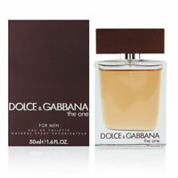 The One by Dolce Gabbana for Men 1.7 oz Eau de Toilette Spray Brand New