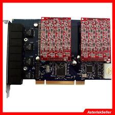 asterisk card  FXO FXS tdm800p 8 Port FXO Card Issabel Freepbx AsteriskNow VoIP