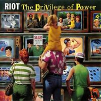 RIOT - THE PRIVILEGE OF POWER  CD NEU