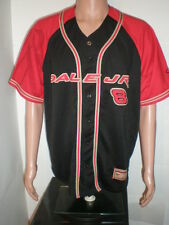 Dale Earnhardt Jr Budweiser Baseball Style Jersey Large Chase Authentic ButtonUp