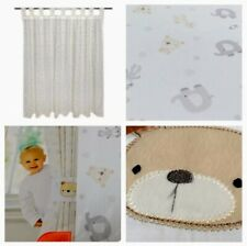 Baby Unisex Nursery Bunny Rabbit Blackout Curtains 66wx72d Toddler Baby Room
