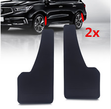 2x Black Racing Car Mudflaps Wheel Fender Custom Mudguard Protector Accessories