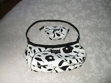 BNWOT Ladies Designer Jim Thompson Small Black&White Baguette&Matching Purse