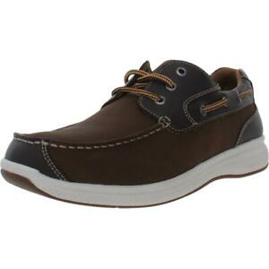 Florsheim Mens Great Lakes  Leather Slip On Comfort Oxfords Shoes BHFO 3378