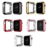 For Apple Watch iWatch 38mm Soft TPU Protective Shell Case Cover Bumper Frame