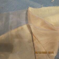 "Antique Amazing Condition 2 Layers Silk 24"" Lg 8"" Wd 1 Fine Batiste Fragment"