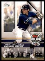 2020 Topps Series 2 HR Challenge #H -23 Christian Yelich - Milwaukee Brewers