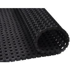 Heavy Duty Rubber Hollow Mat Thick Non Slip Door Entrance In/Outdoor 40 x 60 Cm