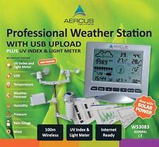 Station Météo Sans Fil WS3083 avec Transfert PC par USB et Indice UV