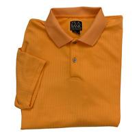 Jos. A. Bank Men's Classic Collection Orange Golf Short Sleeve Polo Shirt XL