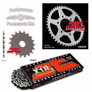 JT Sprockets JTF405.20 20 Tooth Steel Front Countershaft Sprocket