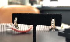 14k Diamond Hook Earrings