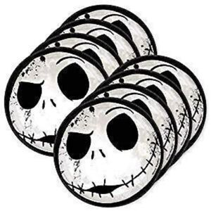 Nightmare Before Christmas Plates CAKE ~8 PCS ~ Halloween Party Decoration Jack