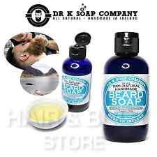 SAPONE LIQUIDO DETERGENTE CURA BARBA DR K uomo rasatura shaving beard soap 100ml