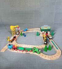 Thomas & Friends Train Wooden Railway and Crane