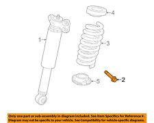GM OEM Rear Suspension-Shock Bolt 11609598