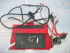 Briggs & Stratton 8hp/troy bilt Chipper /Vac Battery Bracket w/ wire harness