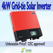 4kW Grid-tie Solar Inverter SMA Sunny Boy 4000TL-21