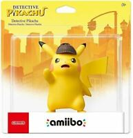 Detective Pikachu amiibo [Nintendo Switch Wii U 3DS Pokemon Toy-to-life] NEW