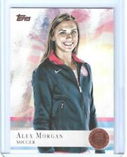 """2012 TOPPS OLYMPIC ALEX MORGAN SOCCER ROOKIE """"BRONZE"""" CARD #90  WORLD CUP ~ QNTY"""
