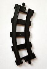 Lego Duplo Schiene Eisenbahn Kurve gebogen schwarz für Schiebezüge 1 Stück 14