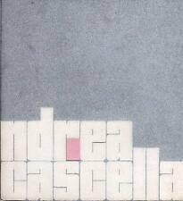 CASCELLA Andrea, Catalogo mostra Betty Parsons Gallery, 1968. Foto di Mulas