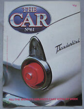 THE CAR magazine Issue 61 featuring Ford Thunderbird, 1976 Japanese Grand Prix