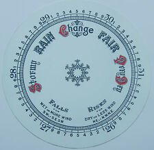 "Aneroid barometer dial 203 mm (8"")"
