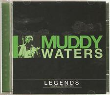 MUDDY WATERS LEGENDS ORIGINAL RECORDINGS CD - GYPSY WOMAN & MORE