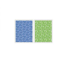 Sizzix A2 Embossing Folders 2PK - Country & Flowering Foliage Set - 657112
