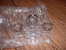 Rack For Sugar Packets Salt & Pepper Holders (New) Nice