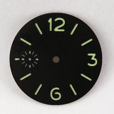 36.2mm sandwich dial fit Unitas ETA 6497 Luminous sterile Watch Dial DA015