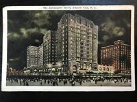 Vintage Postcard>1920>The Ambassador Hotel>Atlantic City>New Jersey