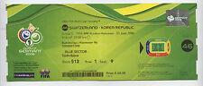 Orig.Ticket    WM Deutschland 2006   SCHWEIZ - SÜDKOREA // Spiel 46  !!  SELTEN