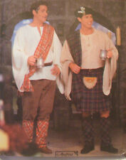 SEWING PATTERN Simplicity 8913 CELTIC SCOTTISH KILT Mens sz LG-XL 42-48 Costume