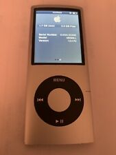 Apple iPod Nano 4th Generation (8 GB) Silver MP3 Music Player