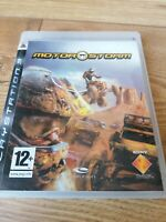 Playstation Games PS3 MotorStorm Complete Manual Retro Racing Warfare FREE P&P