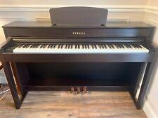 More details for yamaha clavinova clp-535 88 key digital piano, rosewood c/w stool hardly used