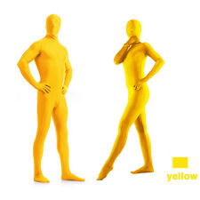 Full BodyBrightLycra Spandex Zentai Suit Costume Party Skin Tight Select color