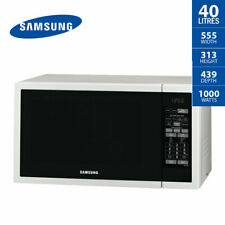 SAMSUNG Microwave Oven 40 Litre Stainless Steel Ceramic Interior ME6144W 1000W