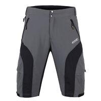 New Loose Men's Bicycle Shorts Detachable 3D Padded MTB Cycling Short M-3XL