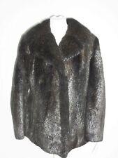 Piel Chaqueta de Piel Nutria Marrón Tamaño Del Vestido: 44-46 Furs Меха