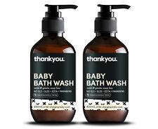2 x Thankyou. Baby Bath Wash 300mL