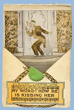 VINTAGE - THE MERRY WIDOW POSTCARD - TREMONT THEATRE - BOSTON, MA - UNUSED