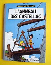 JOHAN ET PIRLOUIT L ANNEAU DES CASTELLAC REED 1965 PEYO BON ETAT