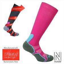 Womens Compression Running Socks / Anti Fatigue / Anti Bacteria - Joan