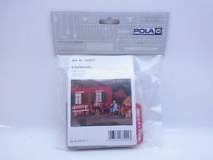 Lot 17100 Pola G 333221 4 Park Benches Bench 1:22,5 Kit New Original Packaging
